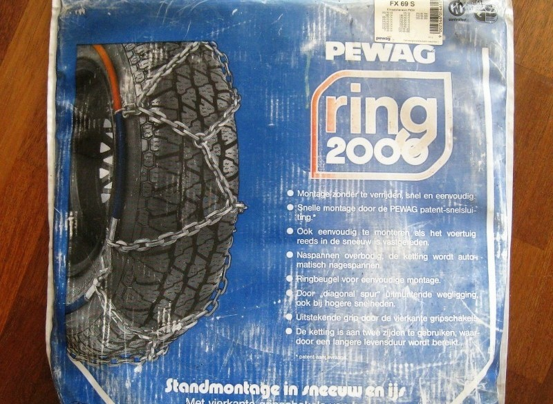 PEWAG Ring 2000 FX 69 S. Sneeuwkettingen