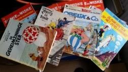 meerdere strips o.a. suske en wiske en kuifje