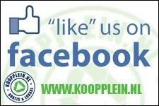 'Like' Koopplein op FB!