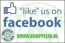'Like' Koopplein op FB!