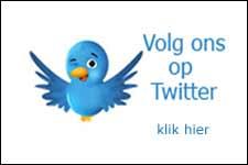 Volg ons op twitter en facebook