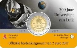 Belgie 2 Euro 2017 Coincard Luik Nederlands