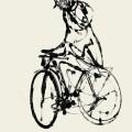 Foto Gozen Doorn  –  De fietser