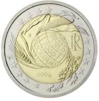 Italië 2 Euro 2004 World Food Programme