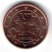 Litouwen 1 cent 2016 UNC
