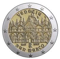 Italië 2 Euro 2017 San Marco Venetië