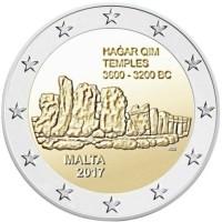 Malta 2 Euro 2017 Hagar Qim