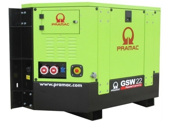 Reefer Container Generator Pramac GSW 22 Yanmar