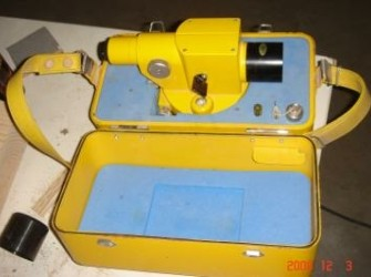 Waterpas instrument