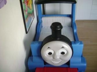 Thomas de trein bed