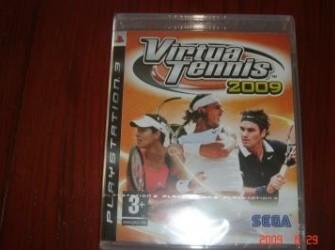 Nieuwe Playstation computerspel Virtual Tennis 2009