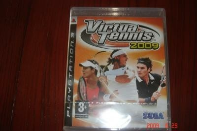 Nieuwe Playstation computerspel Virtual Tennis 2009