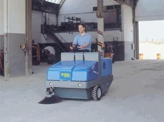 Isal PB120 zit veeg/zuigmachine PB120