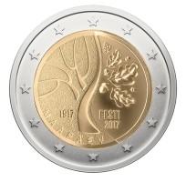 Estland 2 Euro 2017 Onafhankelijkheid