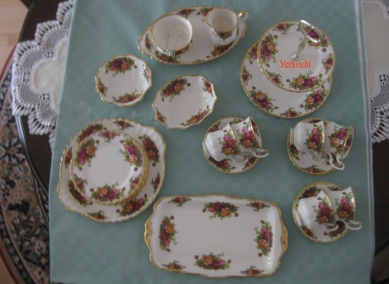 Royal Albert Old Country Roses serviesgoed