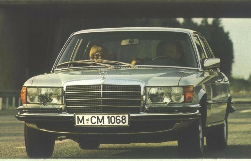 Mercedes 280S-450SEL type 116 1972-1980 onderdelen