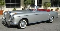 Mercedes 220S/E coupe/cabrio 1956-1960  onderdelen