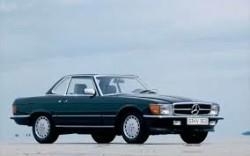 Mercedes 280 SL-560 SL type 107 1971-1989 onderd.