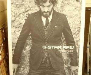 G-Star Raw reclame lichtbak