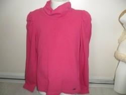 roze stretch collshirt JILLY mt 122
