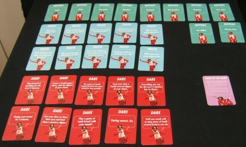 kaartspel Dare,Truth of Dippers van Emmi-Fondates ,NIEUW