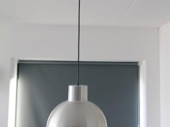 2 Aluminium hanglampen