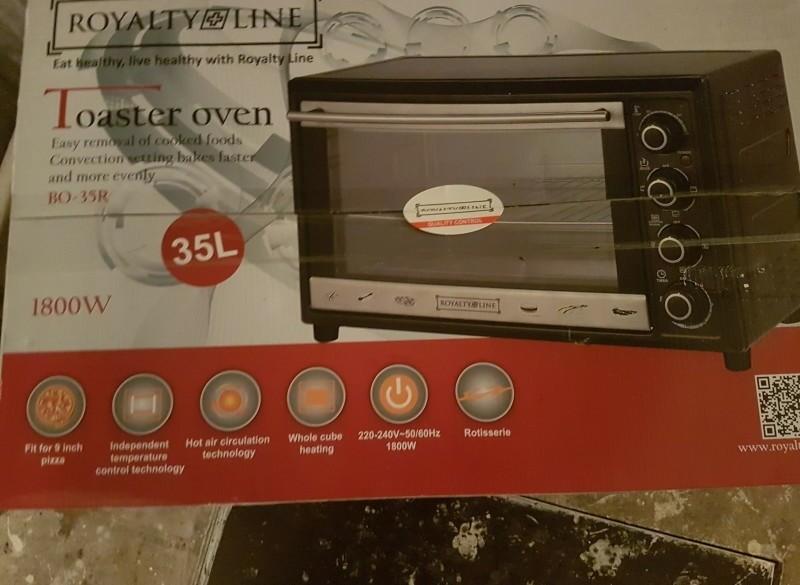 NU!@!een geheel nieuwe electrische oven/grill