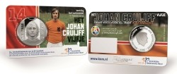 Nederland 5 Euro 2017 Johan Cruijff BU in Coincard
