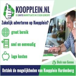Adverteren op Kooppleinteren op Koopplein