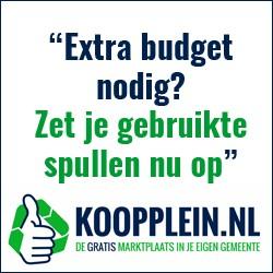 Koopplein Extra budget