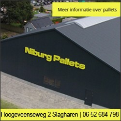 Niburg Pallets Slagharen