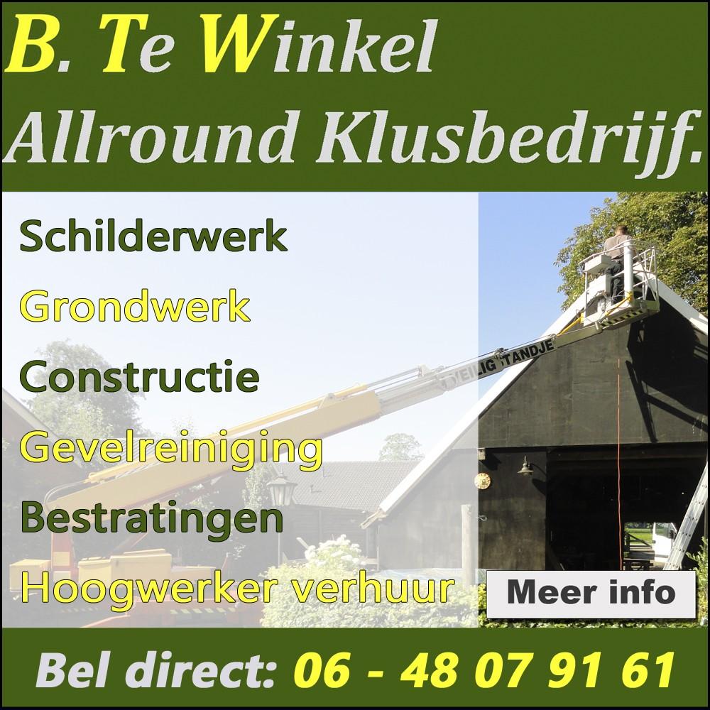 Klik hier voor B. te Winkel Allround klusbedrijf