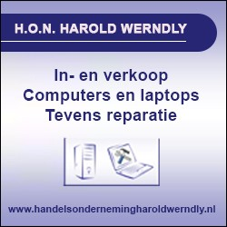 In- & Verkoop en reparatie notebooks, computers