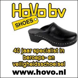 HoVo bv, 40 jaar specialist in beroeps- en veiligheidsschoeisel
