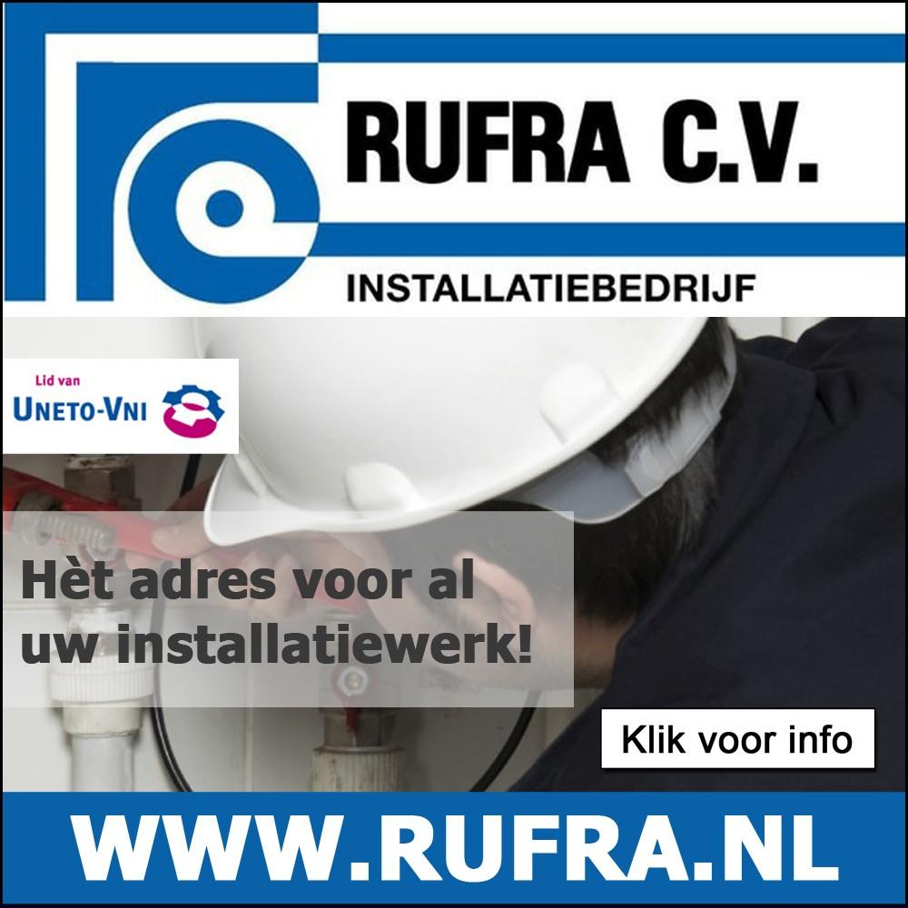 Klik hier voor info over Rufra Installatiebedrijf