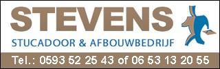 Stucadoor & Afbouwbedrijf Stevens uit Beilen
