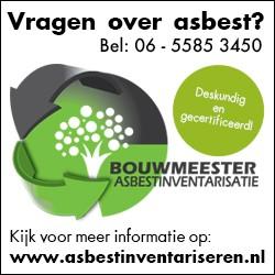 Bouwmeester Asbestinventarisatie uit Westerbork