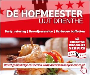 Catering de Hofmeester uut Drenthe, broodjesservice