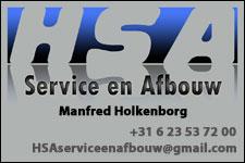 HSA service en afbouw