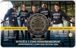 België 2 Euro 2017 Coincard Gent Nederlands