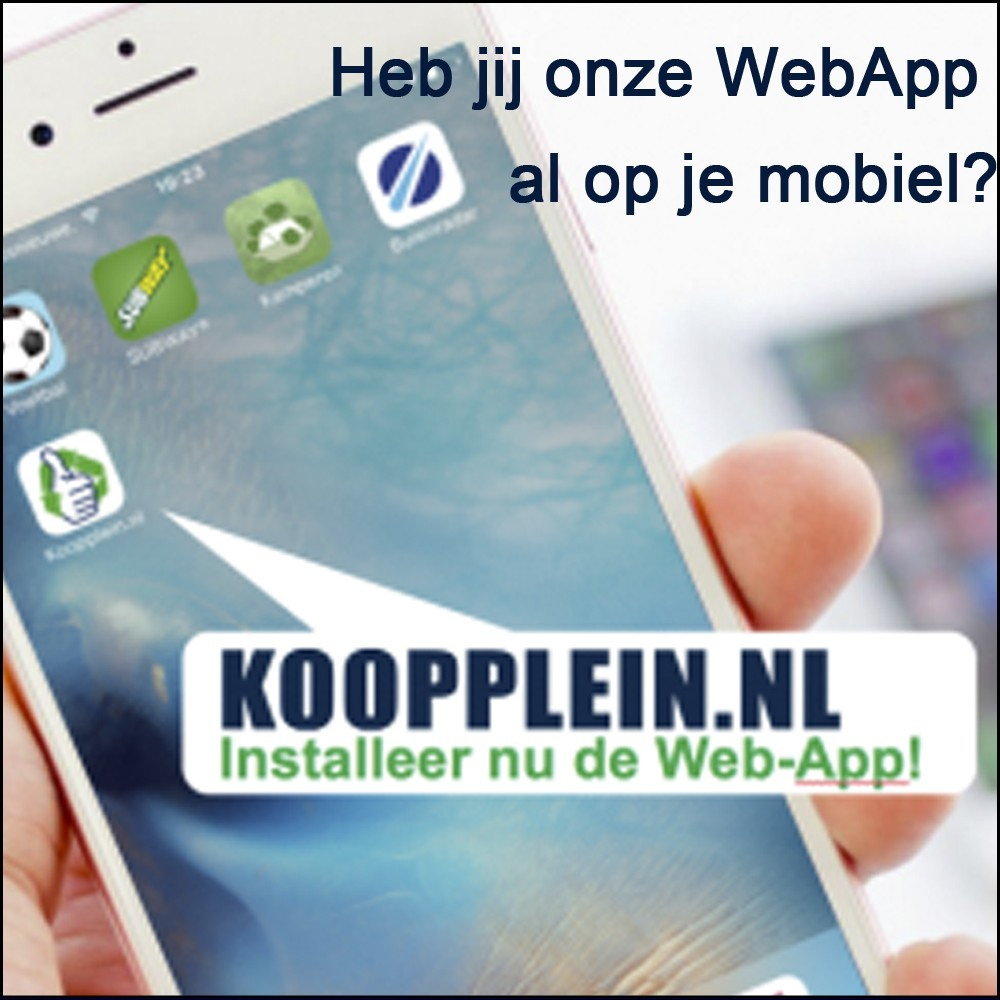Koopplein Web app