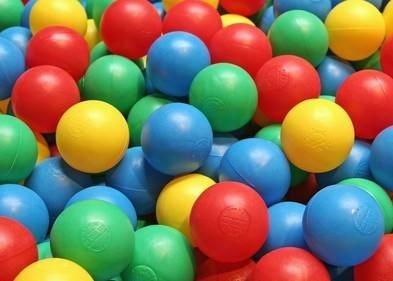 Ballen voor in de Ballenbak