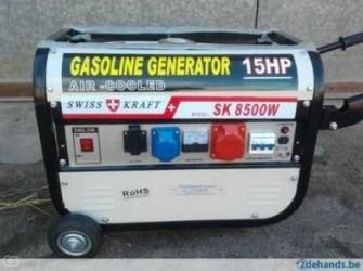Nieuwe Aggregaten 6500 Tot 8500 Watt Avr 400 Volt