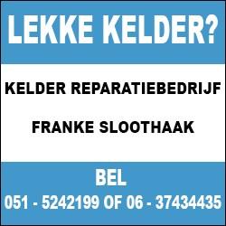 Kelder Reparatiebedrijf Franke Sloothaak