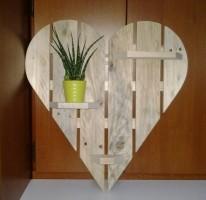"""Hart van hout type D (verticaal """"open"""")"""