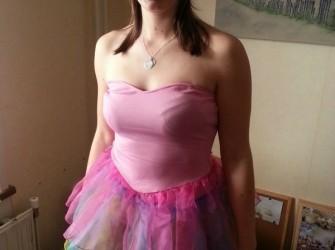 Roze carnavals jurkje !