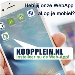 Klik hier voor onze WebApp