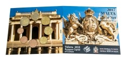 Malta BU 2017 Blister Valletta
