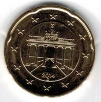 Duitsland 20 Cent 2014 D