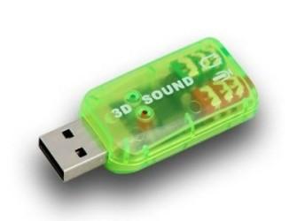 GRATIS Bezorgd: Usb 3D sound geluidskaart